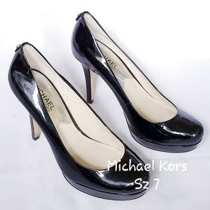 Michael Kors Platform Patent Leather Heels